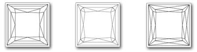 Prinses-geslepen-diamant-Bezel-cut