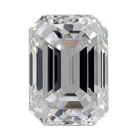 Emerald-geslepen-diamant-met-Bow-Tie-effect