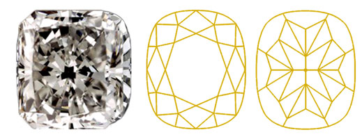 Cushion-crushed-ice-diamant-Diamantwisselkantoor