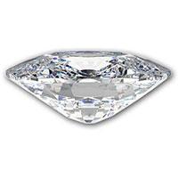 Cushion-geslepen-diamant-zijkant