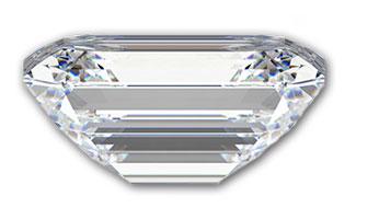 Emerald-geslepen-diamant-zij-aanzicht