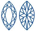 Diamantwisselkantoor-Marquise-slijpvorm-facetten
