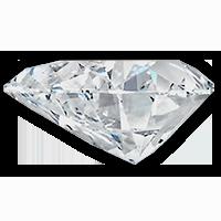 Hart-geslepen-diamant-zijkant-Diamantwisselkantoor