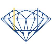 Diamantwisselkantoor-ideal-cut-licht-reflectie