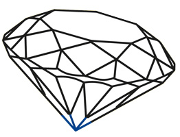 Diamant-kollet-facet