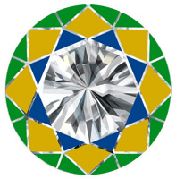 diamantwisselkantoor-kroon-facetten-diamant-bovenzijde