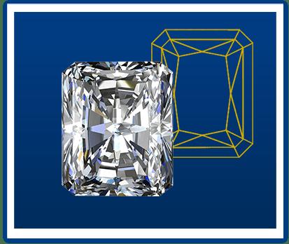 Radiant-geslepen-diamant