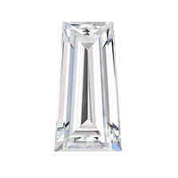 Diamantwisselkantoor Tapered cut Baguette diamant